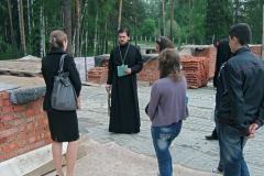 Волонтерская помощь храму Александра Невского в Красноармейске, сотрудничество с Администрацией города
