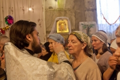 Таинство Соборования в Рождественский пост, Александро-Невский храм Красноармейска