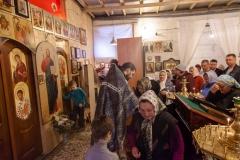 Прощеное воскресение в Александро-Невском храме Красноармейска, 2014 год