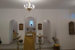 Возобновление богослужений в нижнем приделе, 22 января 2018 года